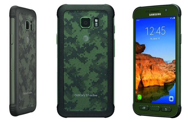 Samsung Galaxy S7 Active ufficiale: IP68, certificazione militare e batteria da 4000mAh