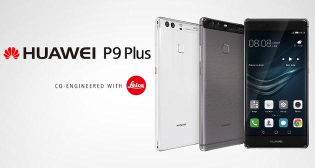 Huawei P9 Plus riceve un nuovo aggiornamento software