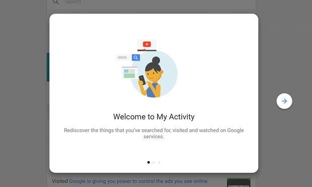 Le mie attività: ecco la storia del vostro account Google