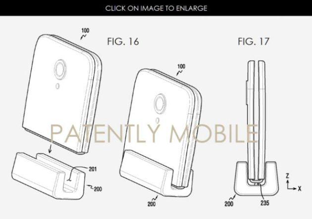 Samsung deposita nuovi brevetti per lo smartphone pieghevole