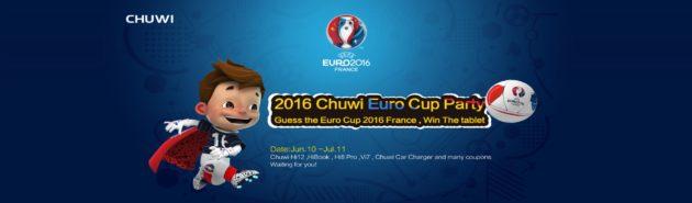 È iniziata la Chuwi Euro Cup Party 2016