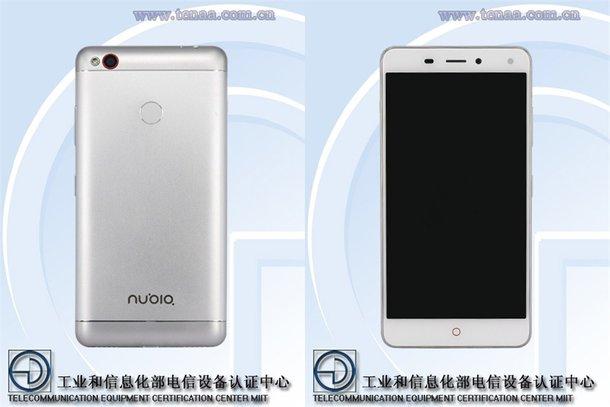 Nubia NX541J certificato dall'ente cinese TENAA