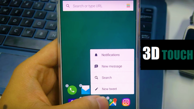 Aviate simula il 3D Touch sui dispositivi Android - VIDEO
