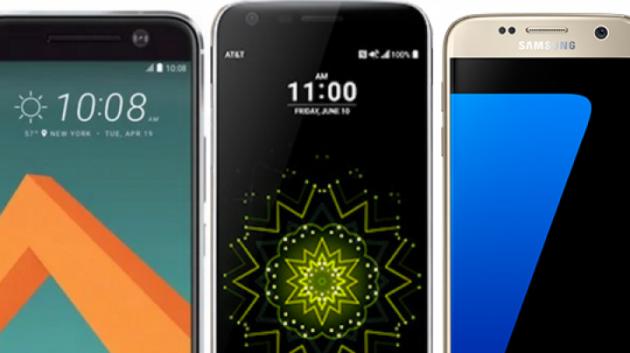 Voglia di top di gamma? Ecco le migliori offerte per HTC 10, Galaxy S7, Lg G5 e Huawei P9