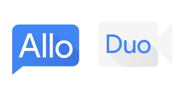Allo e Duo: le nuove app di Google subiscono un restyling delle icone