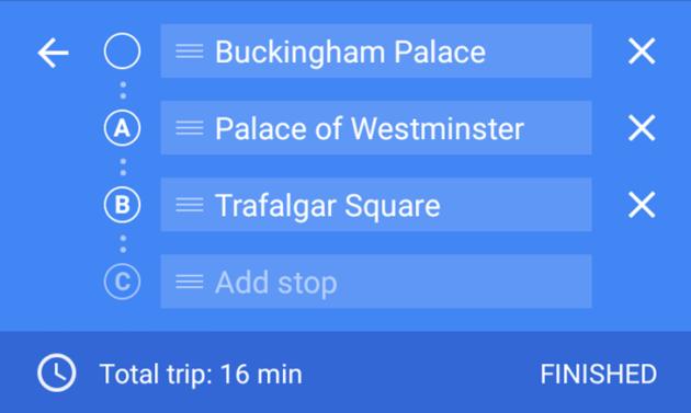 Google Maps: in arrivo le destinazioni multiple