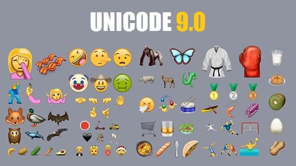Unicode 9.0 è ufficiale, con 72 nuove emoji - VIDEO