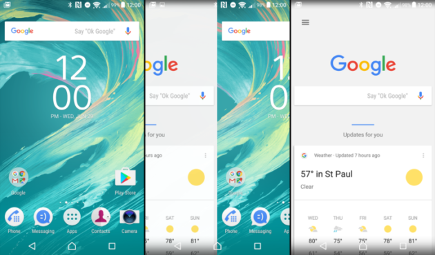 Xperia Home beta si aggiorna ed integra Google Now