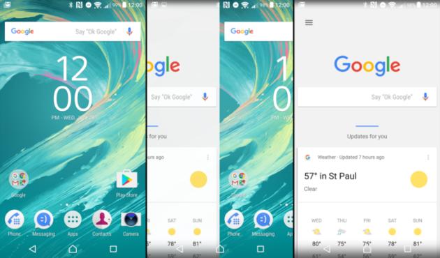Xperia Home beta si aggiorna ed integra Google Now