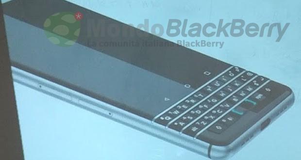 Blackberry Rome avvistato in un altro render