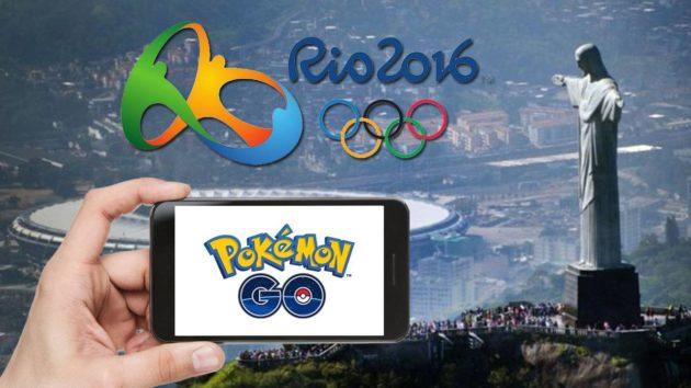Pokemon Go alle Olimpiadi di Rio