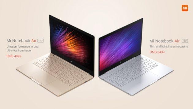 Xiaomi Mi Notebook Air: presentati i primi laptop Windows dell'azienda cinese