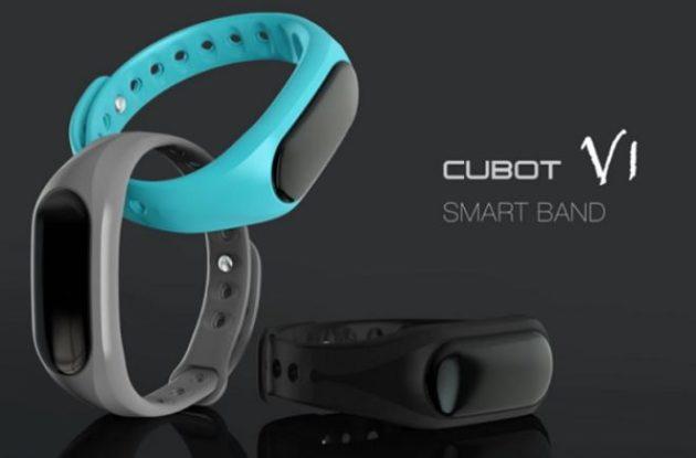 Cubot V1: la smartband da 15$ che vuole contrastare la Mi Band