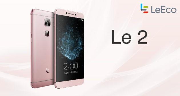LeEco Le 2 inizia a ricevere l'aggiornamento con EUI 5.8