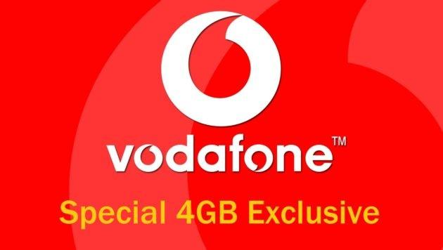 Vodafone Special 4GB Exclusive: 1000 minuti e 4 Giga a 7 euro