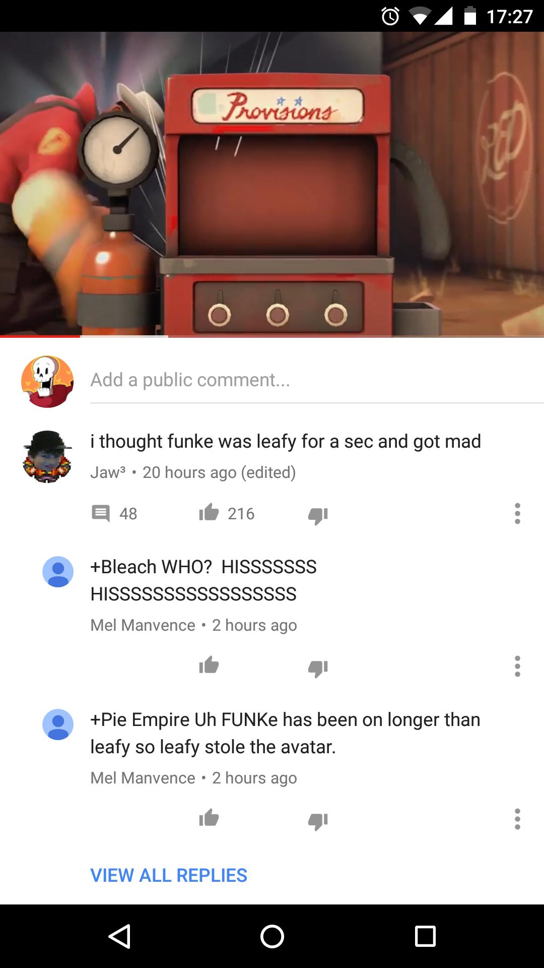 Youtube pulsanti Mi piace Non mi piace per i commenti - FOTO