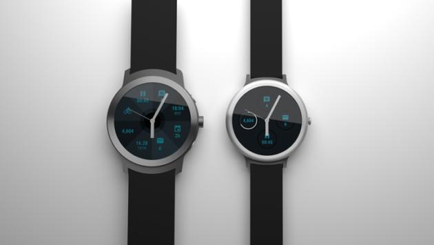 Ecco i primi render dei due smartwatch di Google