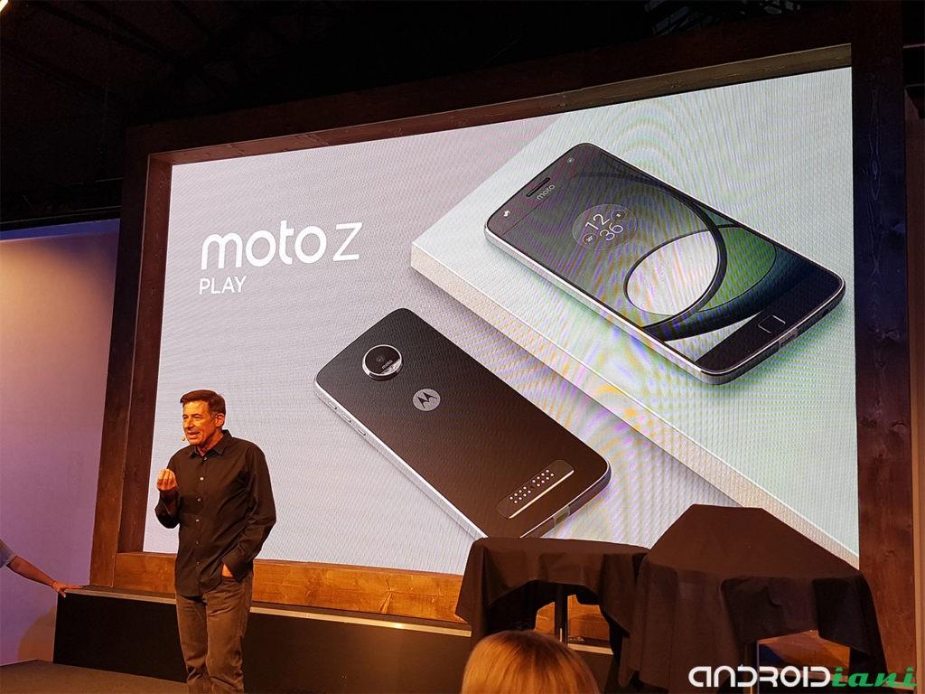Motorola Moto Z Play potrebbe essere lanciato il 6 settembre