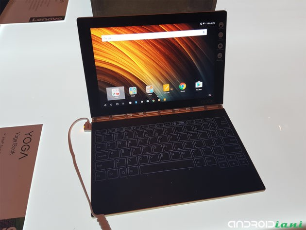 IFA 2016: Lenovo presenta il tablet 2-in-1 Yoga Book