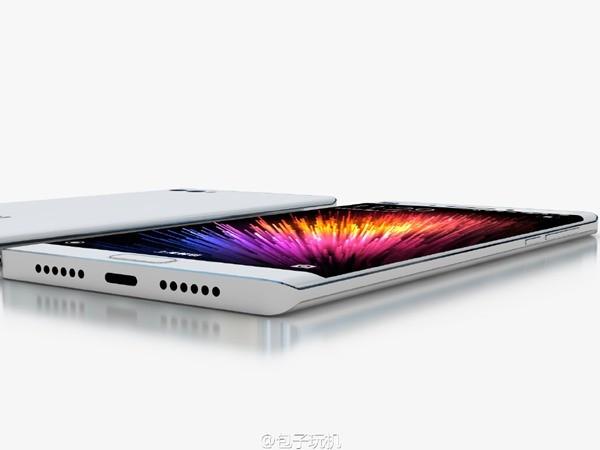 Xiaomi Mi Note 2 immaginato in alcuni render