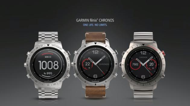 Garmin Fenix Chronos ufficiale: smartwatch di lusso da 1000€
