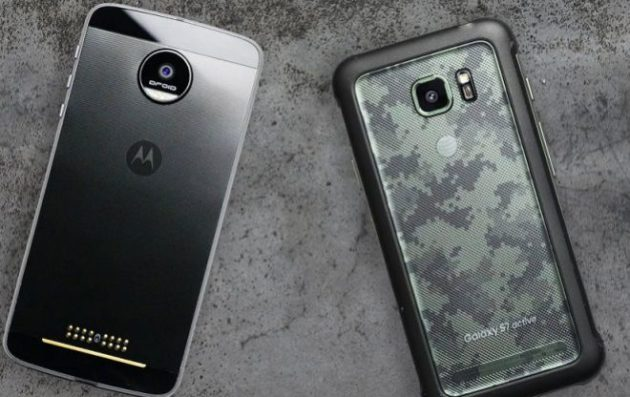 Samsung Galaxy S7 Active vs Moto Z Force: interessante test di resistenza