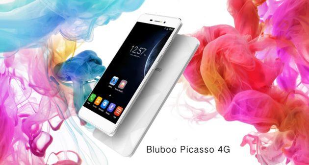 Bluboo Picasso 4G , una nuova versione con interessanti novità