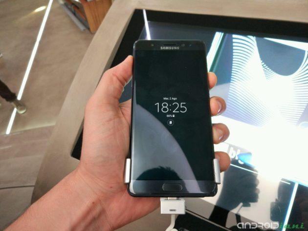 Samsung Galaxy Note 7 potrebbe essere vietato sugli aerei americani