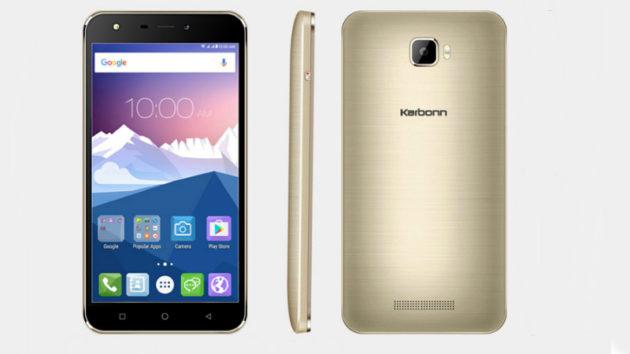 Karbonn K9 Viraat lanciato con schermo HD e Android Marshmallow