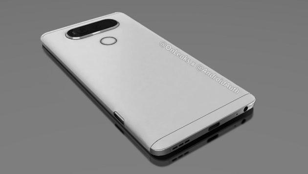 LG V20: sei nuovi render provano a chiarirci le idee