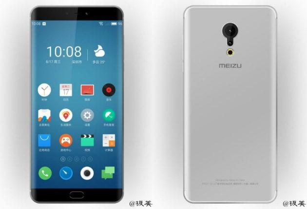 Le prime immagini di Meizu Pro 7 mostrano un display curvo e una doppia fotocamera