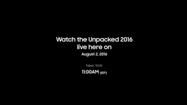 Presentazione Samsung Galaxy Note 7: Diretta Live Streaming