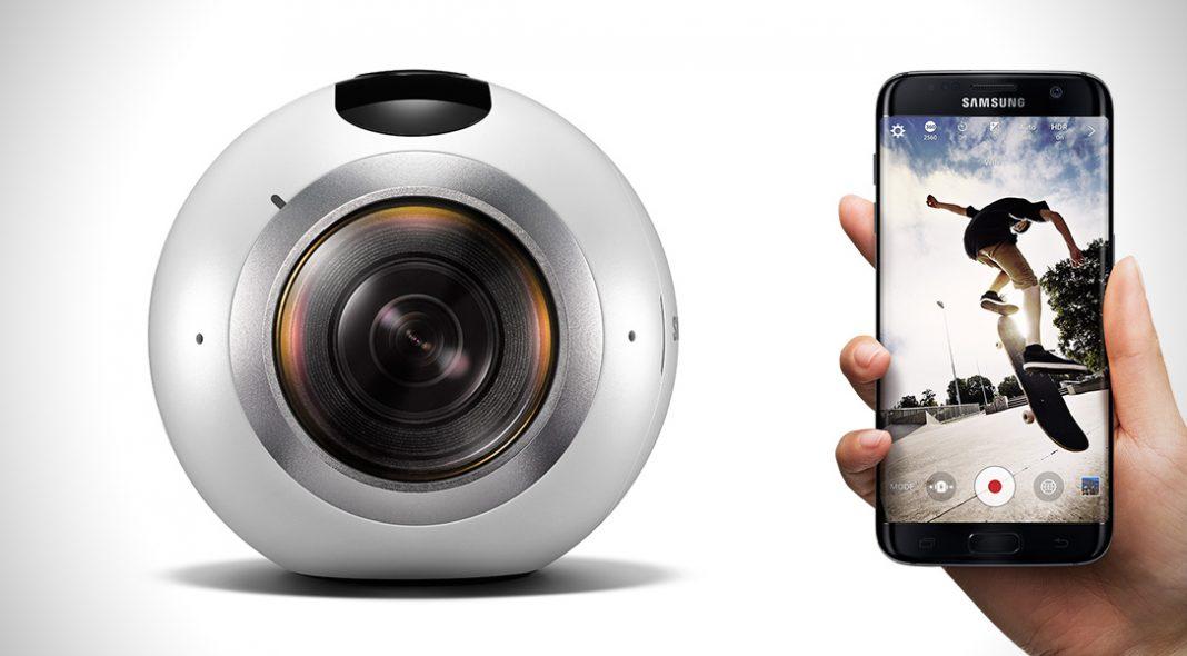 Samsung Gear 360 Pro: nuova action-cam in arrivo con Galaxy S8?