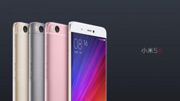 Xiaomi Mi 5S e 5S Plus ufficiali: Snapdragon 821, 4/6GB di RAM e scanner biometrico ad ultrasuoni