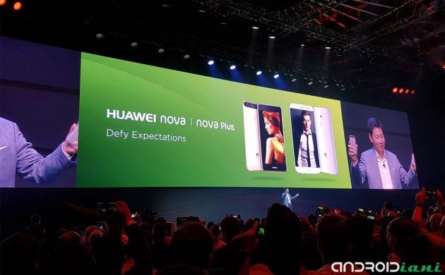 IFA 2016: Huawei presenta gli smartphone Nova e Nova Plus