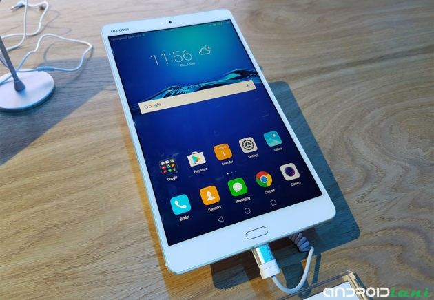 IFA 2016: Huawei presenta il tablet MediaPad M3
