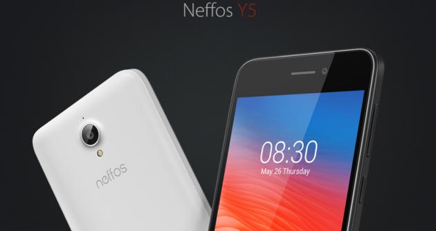 Neffos Y5: ufficiale il nuovo smartphone di TP-Link