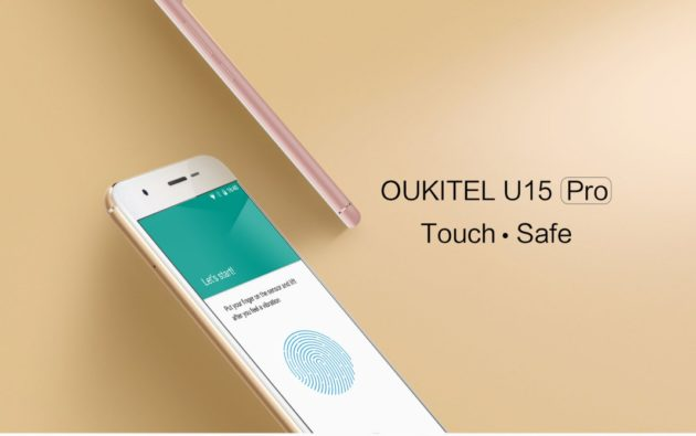 "Oukitel U15 Pro ufficiale: display HD da 5"", SoC MT6753 e 3GB di RAM"