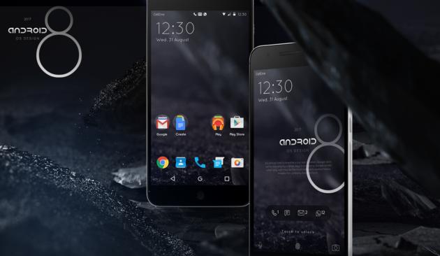 Android 8: un futuro dalle tinte dark? - Foto e Video CONCEPT