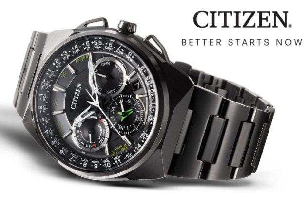 Citizen pronta al lancio di uno smartwatch ad energia solare