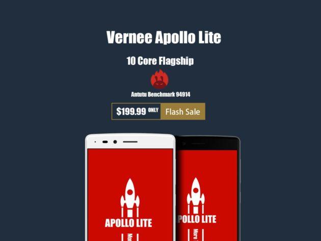 Vernee Apollo Lite in promozione a $199,99