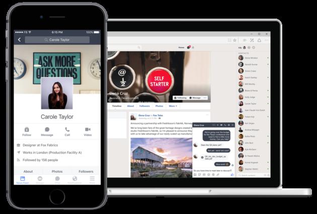 Facebook lancia Workplace, il social network per le aziende