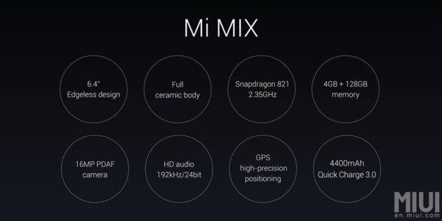 Xiaomi Mi Mix: la produzione mensile sarà molto limitata