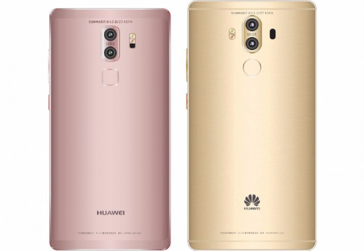 Doppia fotocamera e display curvo: ecco il nuovo Huawei Mate 9