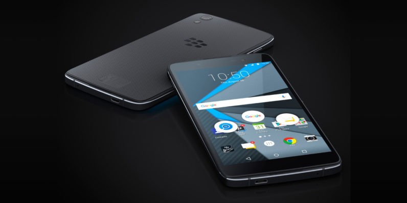 Blackberry DTEK60 già in pre-ordine negli USA a 499$