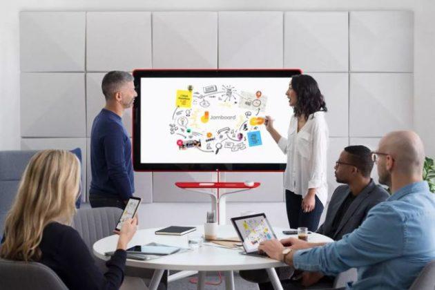 Google Jamboard: la nuova lavagna interattiva in arrivo nel 2017