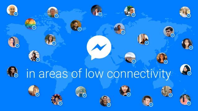 Facebook annuncia l'arrivo del nuovo Messenger Lite (1)