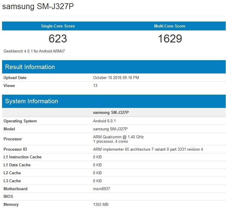 Ecco le specifiche tecniche del Galaxy J3 2017 — Samsung