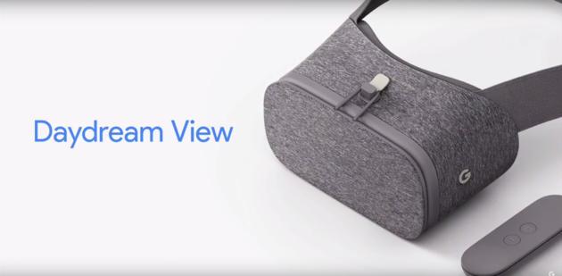 Daydream View ufficiale: il nuovo visore per la realtà virtuale di Google