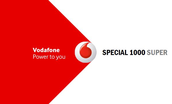 Vodafone offre Special 1000 Super ad alcuni ex clienti